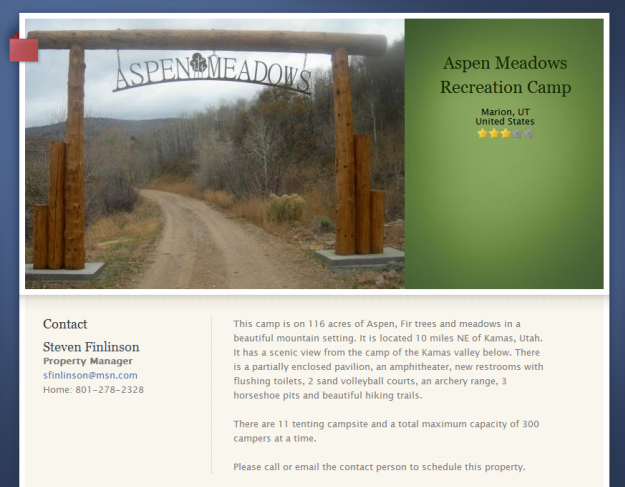 Camping lds org: A Central Site for Church Recreational