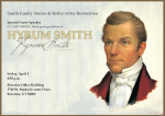 Special Hyrum Smith Presentation