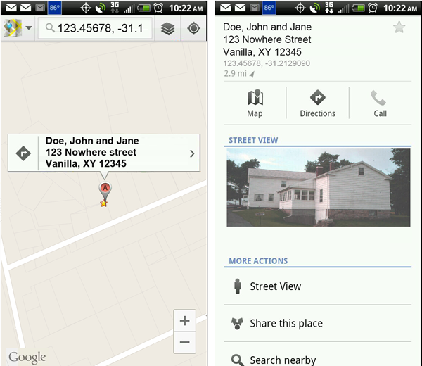 LDS Tools for Android 1.5 -- geolocation and map information