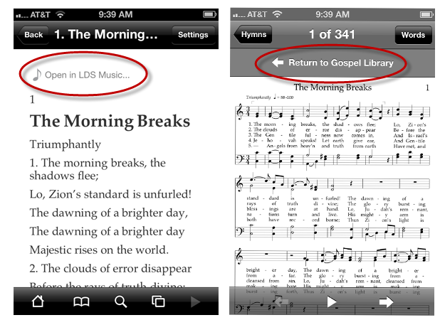 LDS Music Integration