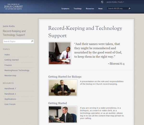 Record Keeping and Technology Support