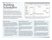 Building Scheduler's Guide