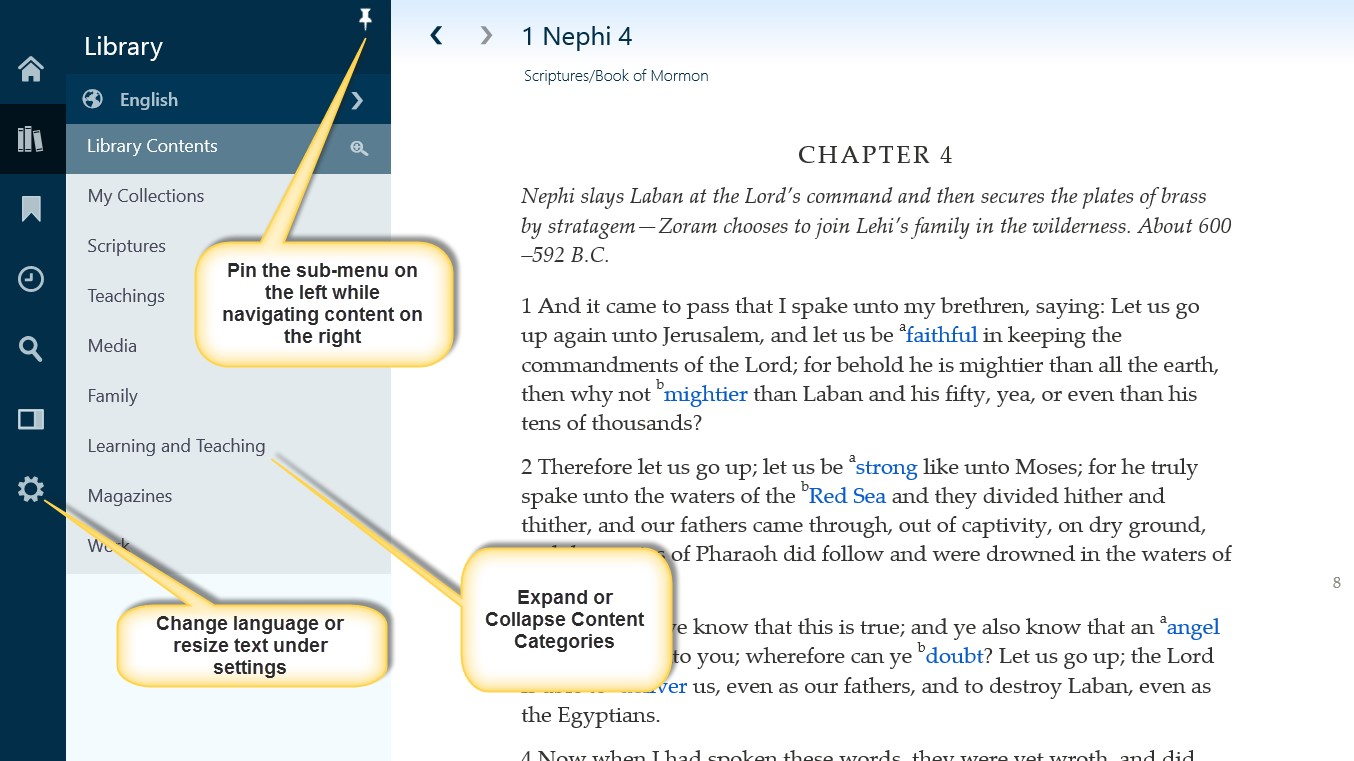 Gospel Library 2 0 App for Windows is now available! » Latter-day