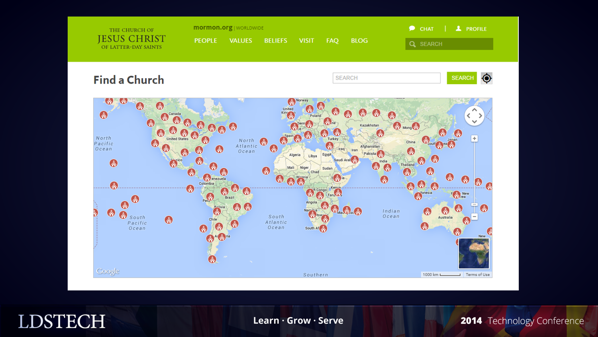 Lds dating world mission map