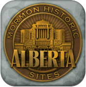 Mormon History Sites Alberta LDS iPad app